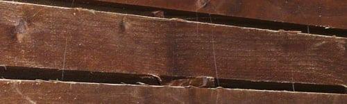 Traviesas de madera ecológicas
