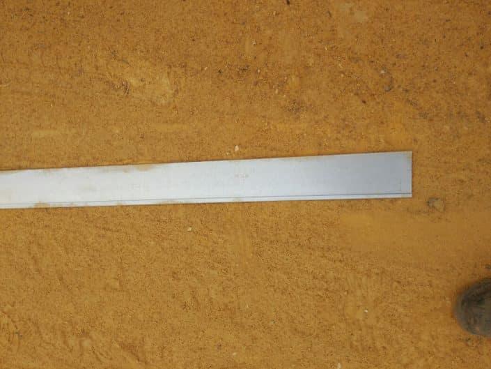 Perfiles separadores de grava