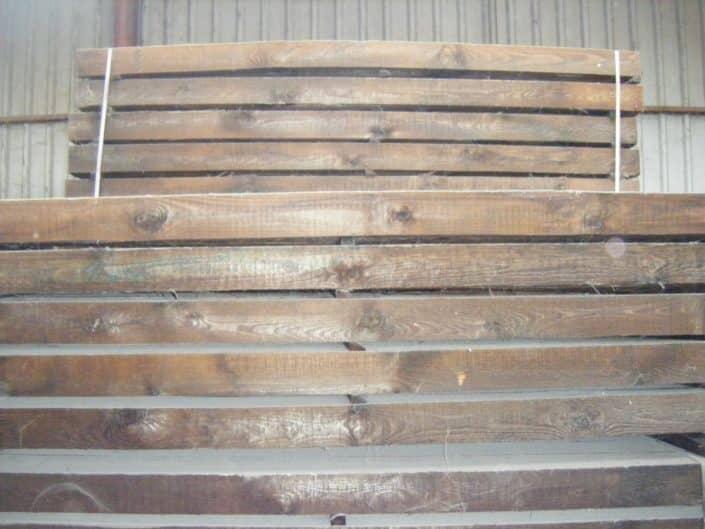 Traviesas de madera